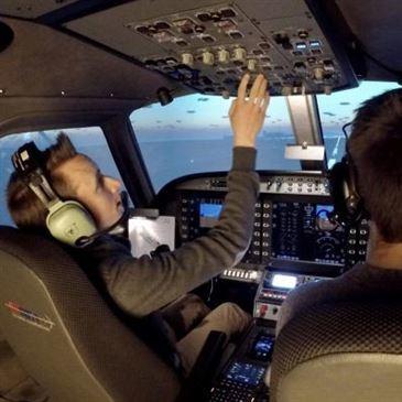 Simulateur de Vol en avion à Cholet