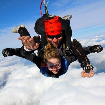 Saut en parachute, département Marne