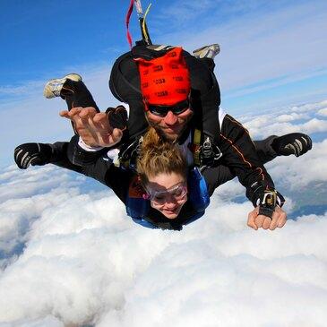 Saut en parachute, département Haute marne