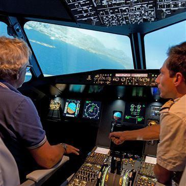 Simulateur de Vol en Avion de Ligne à Metz