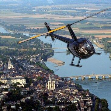 Pilotage d'Hélicoptère près de Tours
