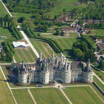 Baptême en Hélicoptère à Blois - Les Châteaux de la Loire