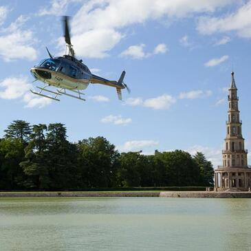 Baptême de l'air hélicoptère en région Centre