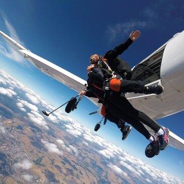 Saut en Parachute à 6000 mètres à Dijon