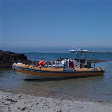 Balade en bateau privatisé à Granville