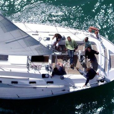Balade en bateau, département Manche