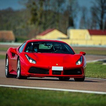 Stage en Ferrari 488 GTB - Circuit de la Ferté-Gaucher