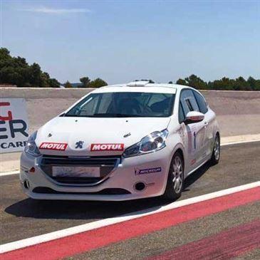 Stage en 208 Racing Cup pour Adolescent - Circuit du Castellet