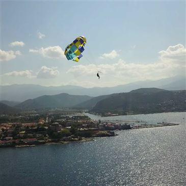 Parachute Ascensionnel, département Haute Corse