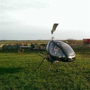 Baptême en Hélicoptère ULM à Amiens