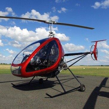 Baptême et Pilotage d'Hélicoptère ULM à Amiens