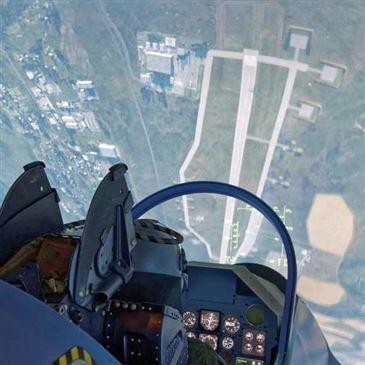 Simulateur de Vol en Avion de Chasse à Nantes