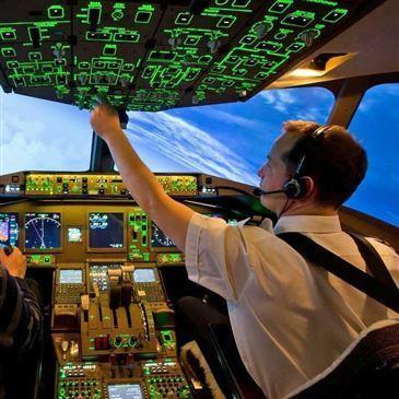 Simulateur de Vol en Boeing 777 à Nantes