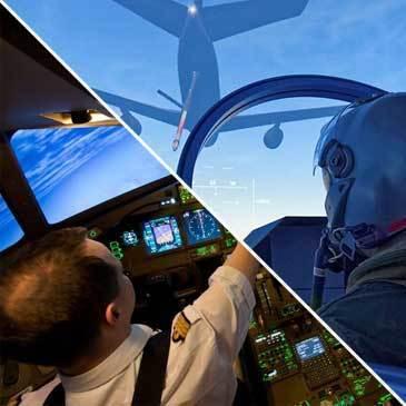 Duo Simulateur de Vol en Avion de Chasse et B777 à Nantes