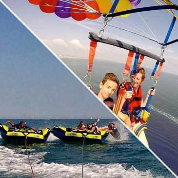 Parachute Ascensionnel et Bouée Tractée à Palavas-les-Flots