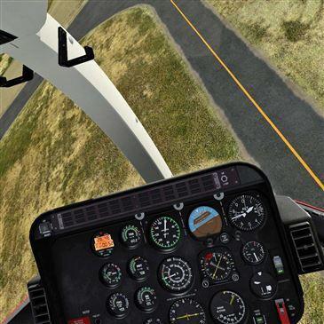 Simulateur de Vol en Hélicoptère à Cannes