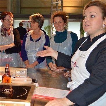 Cours de Cuisine en région Rhône-Alpes