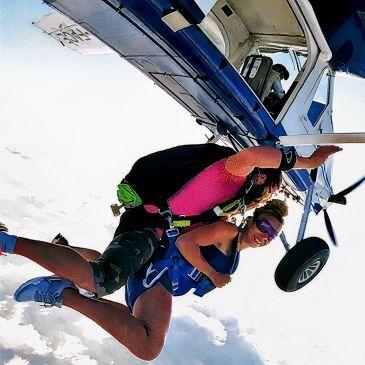 Saut en parachute, département Seine et marne