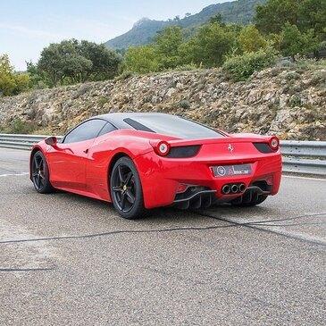 Stage sur Route en Ferrari 458 Italia à Issoire