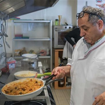 chef de cuisine italien