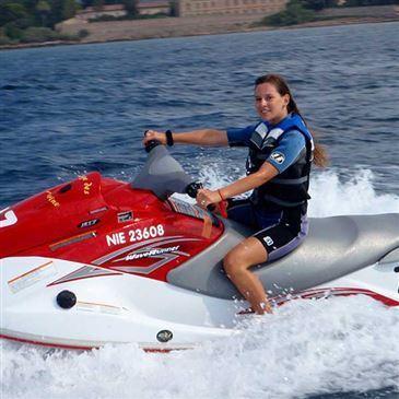 Initiation au Jet Ski près d'Antibes