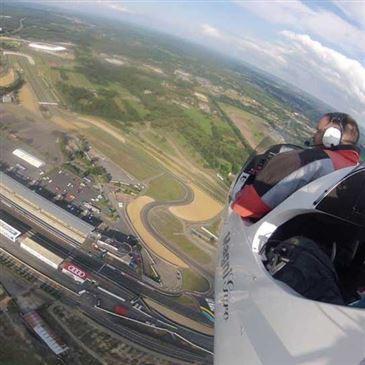 Baptême en ULM Autogire - Survol du Circuit du Mans