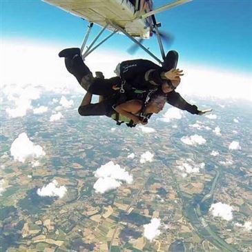 Saut en Parachute Tandem à Toulouse