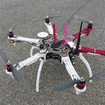 Pilotage de Drone en région Picardie