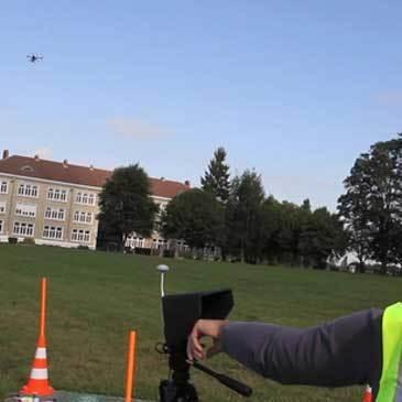 Noyon, Oise (60) - Pilotage de Drone