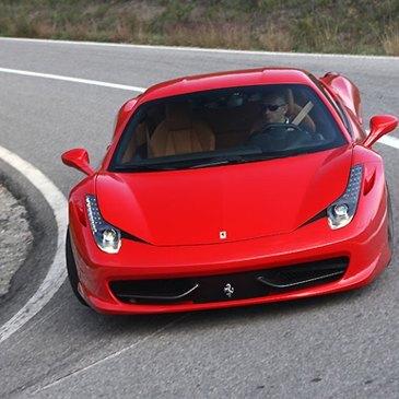 Stage de pilotage Ferrari, département Puy de dôme