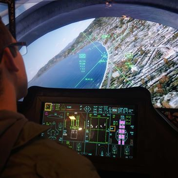 Simulateur de Vol en Avion de Chasse F35 à Paris