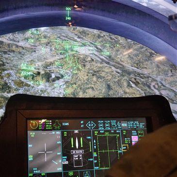 Simulateur de Vol en Avion de Chasse à Paris-Orly