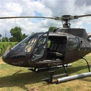 Baptême de l'air hélicoptère proche Aéroport de Rodez-Aveyron