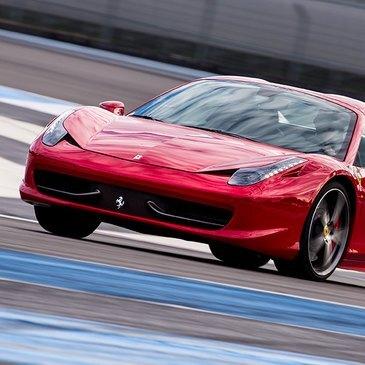 Stage en Ferrari 458 Italia - Circuit du Castellet
