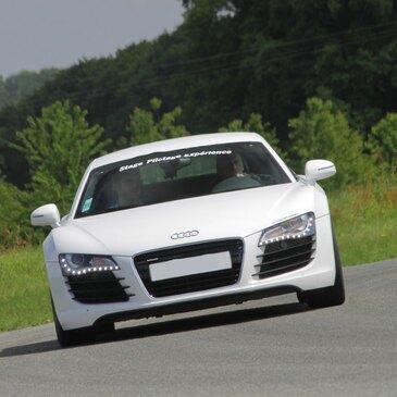 Baptême en Audi R8 V10 sur le Circuit de Lohéac