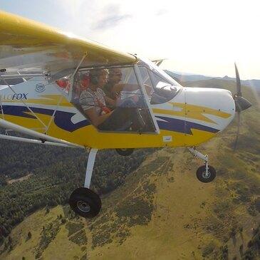 Initiation au Pilotage d'ULM Multiaxe dans le Cantal