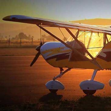 Pilotage ULM en région Auvergne