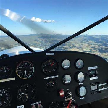 Aérodrome de Saint-Flour - Coltines, Cantal (15) - Pilotage ULM