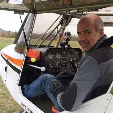 Pilotage ULM proche Aérodrome de Saint-Flour - Coltines