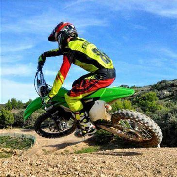 Stage de Moto-Cross près d'Aix-en-Provence