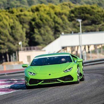 Baptême en Lamborghini Huracan sur le Circuit d'Albi