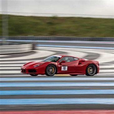Baptême en Ferrari 488 sur le Circuit Paul Ricard Piste GP