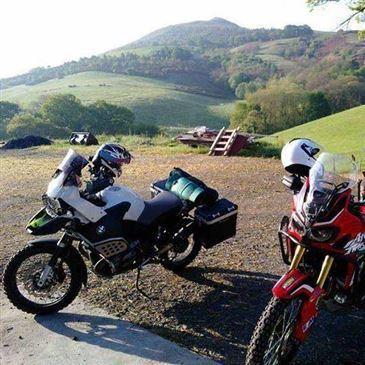 Termes, à 1h de Carcassonne, Aude (11) - Stage de pilotage moto