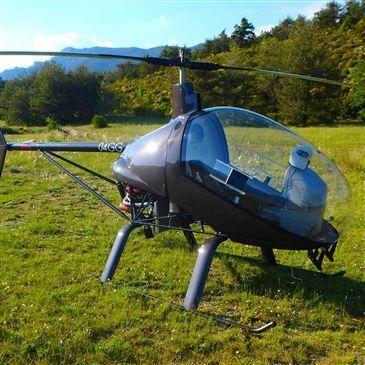 Baptême en Hélicoptère ULM dans les Gorges du Verdon