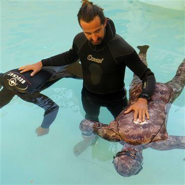 Baptême de plongée , département Alpes Maritimes
