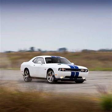 Baptême en Dodge Challenger SRT8 - Circuit du Bourbonnais