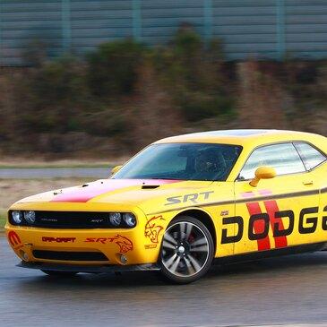 Baptême de Drift en Dodge Challenger SRT8 - Circuit du Bourbonnais