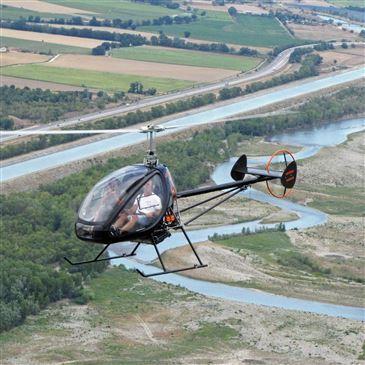 Baptême de l'air hélicoptère proche Aérodrome d'Aix - Les Milles