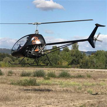 Stage initiation hélicoptère, département Bouches du Rhône