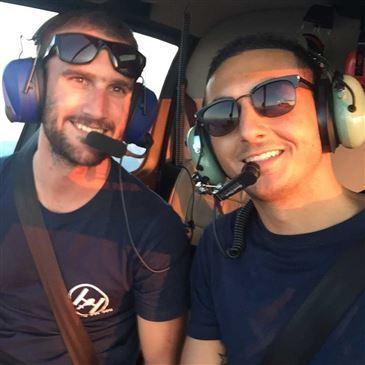 Baptême de l'air hélicoptère, département Loire